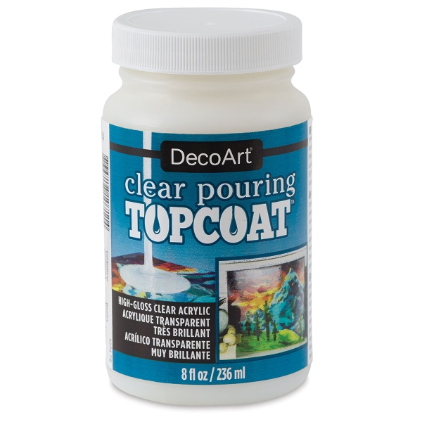 Clear Pouring Topcoat, 8 oz