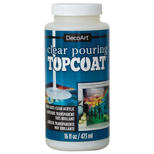 Clear Pouring Topcoat, 16 oz