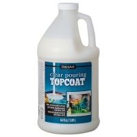 Clear Pouring Topcoat, 64 oz