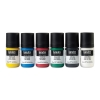 Acrylic Gouache, Primaries, Set of 6, 22 ml