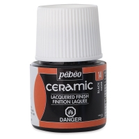 Pebeo Ceramic Black, 45ml