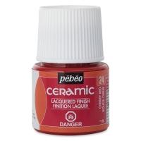 Pebeo Ceramic, Cherry Red, 45 ml