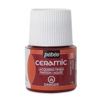 Pebeo Ceramic, Garnet, 45 ml