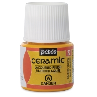 Pebeo Ceramic, Orange Yellow, 45 ml