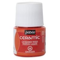 Pebeo Ceramic, Orange, 45 ml