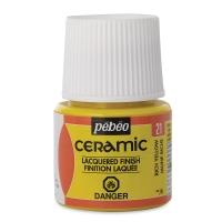 Pebeo Ceramic, Rich Yellow,  45 ml