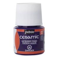Pebeo Ceramic, Purple, 45 ml