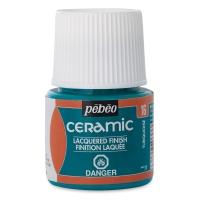 Pebeo Ceramic, Turquoise, 45 ml