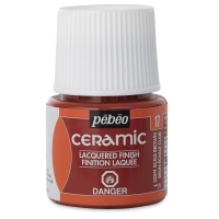 Pebeo Ceramic, Light Scale Brown, 45 ml