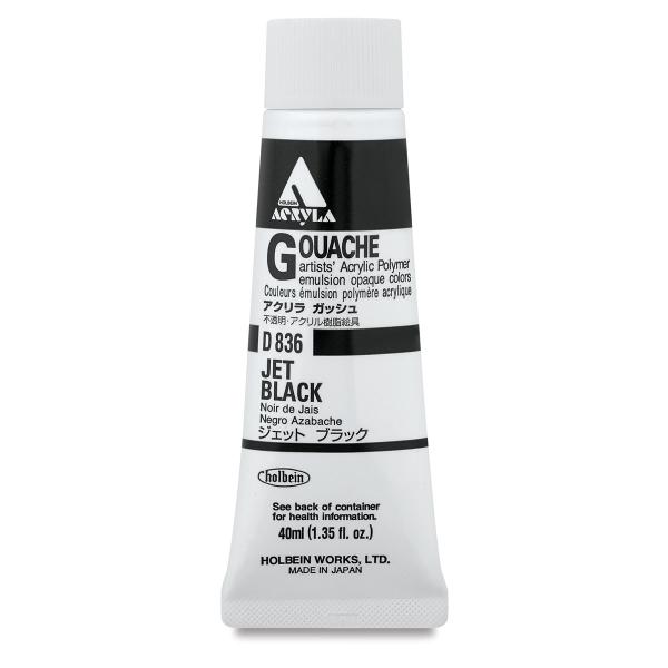 Jet Black, 40 ml Tube