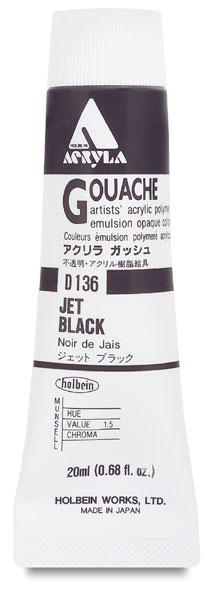 Jet Black, 20 ml Tube