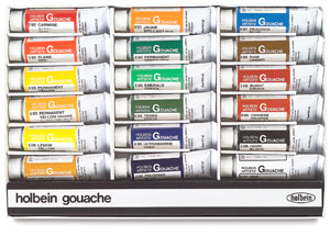 Artists' Set of 18 Colors, 15 ml Tubes