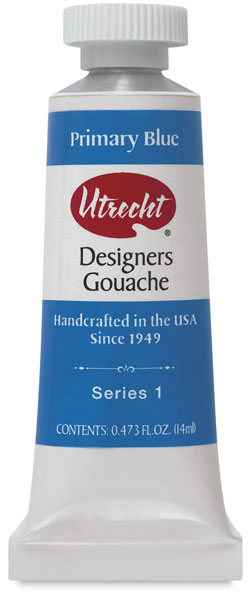 Designers Gouache, Primary Blue, 14 ml Tube