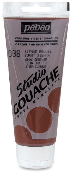 Burnt Sienna, 3.38 oz (100 ml) tube
