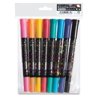 Assorted Colors, Set of 8