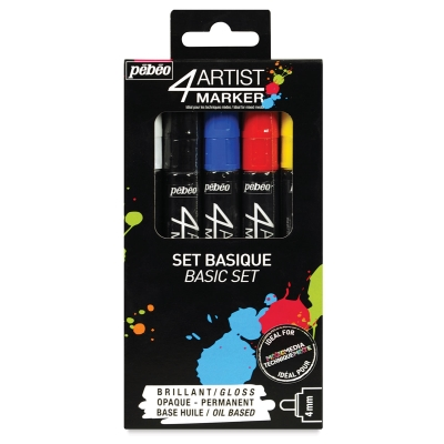 Basic Colors, Set of 5