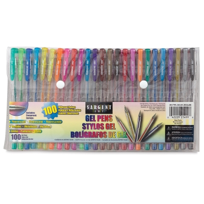Assorted Colors, Set of 100