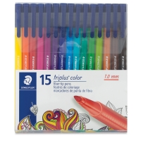 Triplus Color Pens, Set of 15