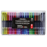 Zensations Fineliner Pens, Set of24