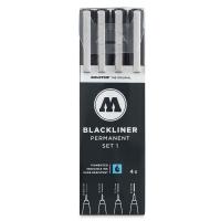 Blackliners, Set 1, Set of 4