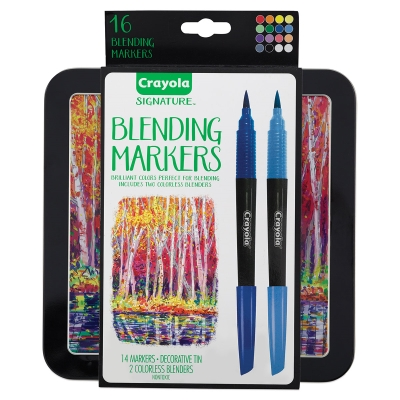 Signature Blending Markers, Set of 16