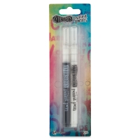 Dylusions Paint Pens, Two-PackBlack and White