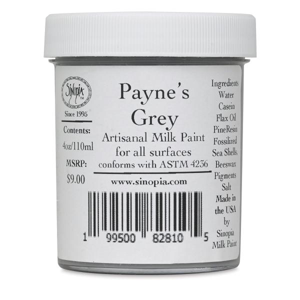 Sinopia Artisanal Milk Paint, Payne's Grey