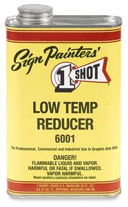 Low-Temp Reducer, Below 70°
