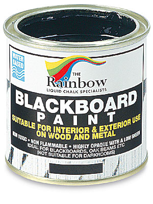 rainbow blackboard paint blick art materials