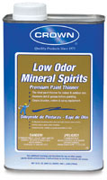 Crown Low Odor Mineral Spirits