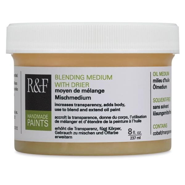 Blending Medium with Drier, 8 oz Jar