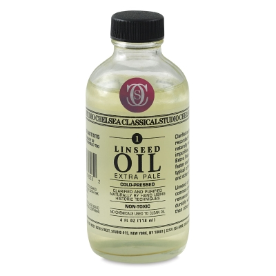 Linseed Oil, 4 oz