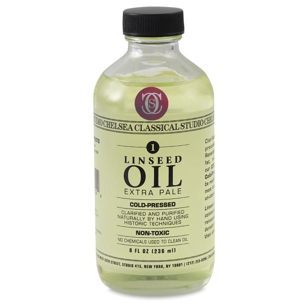 Linseed Oil, 8 oz