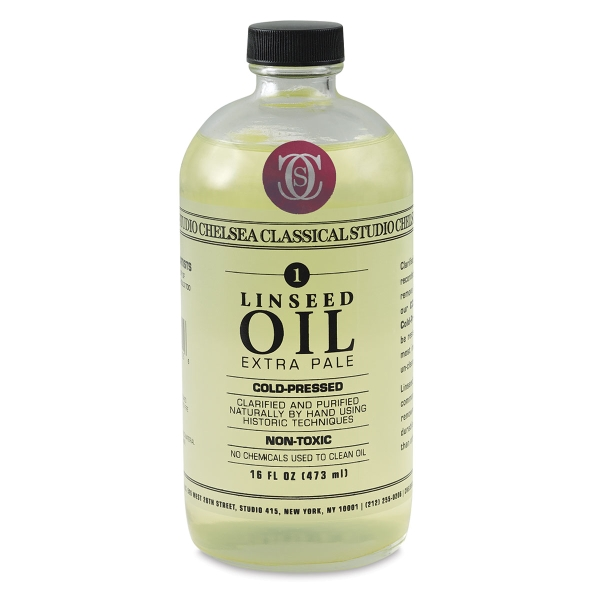 Linseed Oil, 16 oz