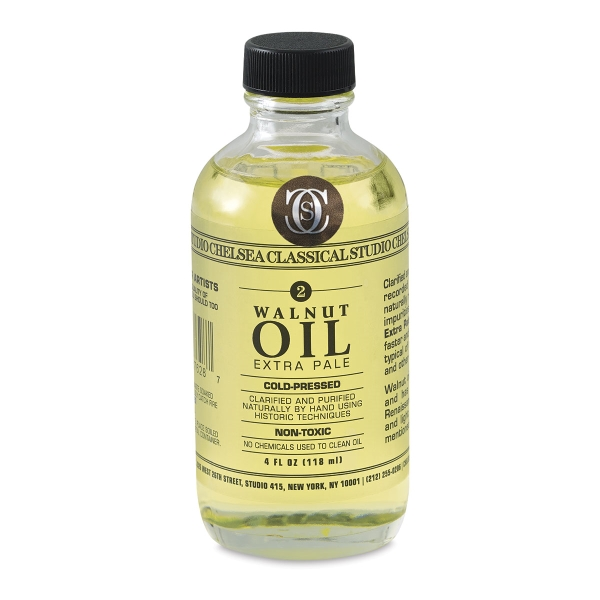 Walnut Oil Extra Pale, 4 oz