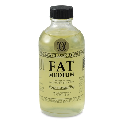 Fat Medium, 4 oz