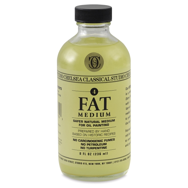 Fat Medium, 8 oz