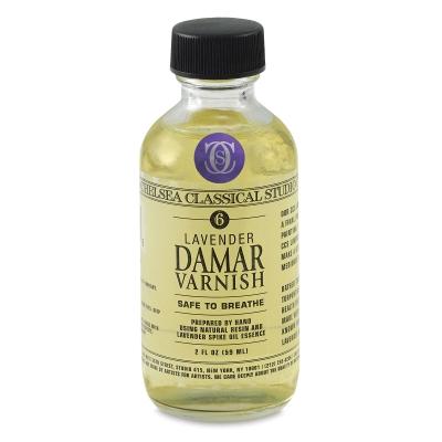 Lavender Damar Varnish