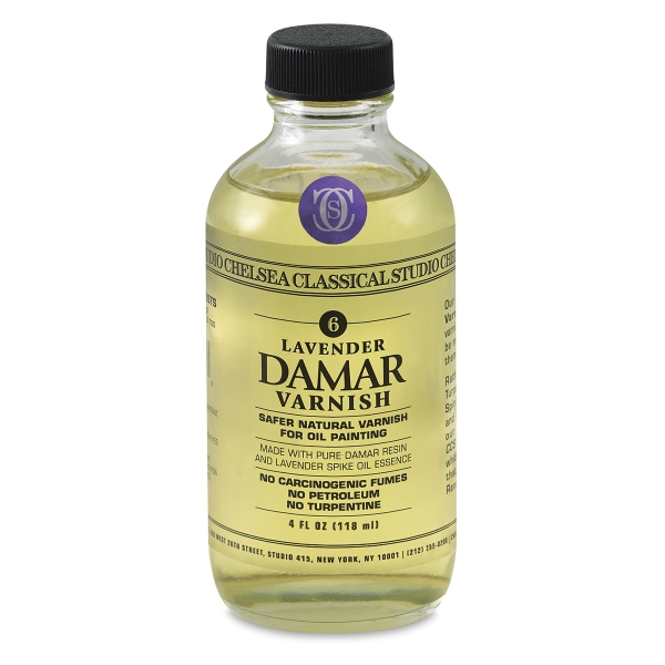 Lavender Damar Varnish
