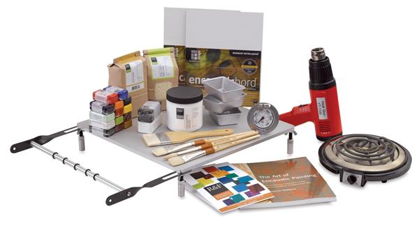 Encaustic Paint Studio Startup Set