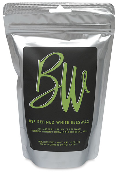 U.S. Pharmaceutical Grade White Beeswax, 8 oz Bag