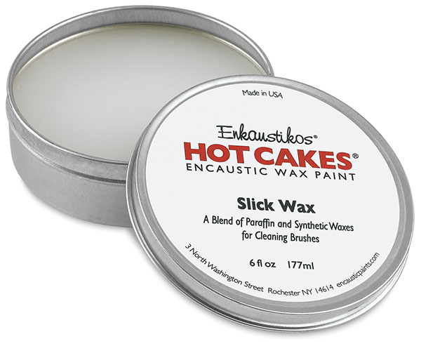 Slick Wax, 6 oz Metal Tin