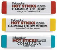 Enkaustikos Hot Sticks Encaustic Wax Paints