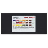 Enkaustikos Wax Snaps Encaustic Paint, Let's Face It Set of 18