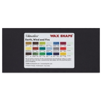 Enkaustikos Wax Snaps Encaustic Paint, Earth, Wind and Fire Set of 18
