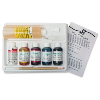 Silk Colors Kit with Gutta Resist