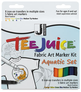 Aquatic Colors Kit, Set of 5