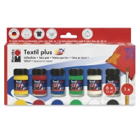 Marabu Textil Plus Fabric Paint, Starter Set