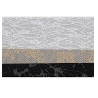 Iron-On Fabric Sheets, Pkg of 3, Lace