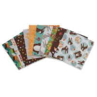 20-Piece Squares Pack, Forest Friend